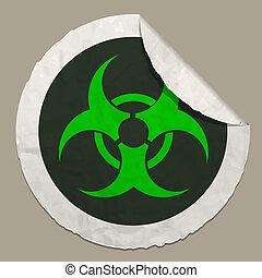 biohazard symbol icon