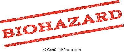 Biohazard Watermark Stamp