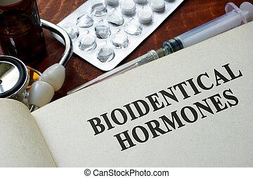 bioidentical, hormonas