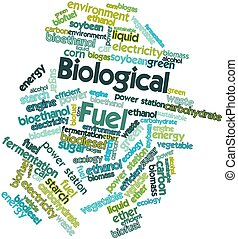 Biological Fuel - Abstract word cloud for Biological Fuel...