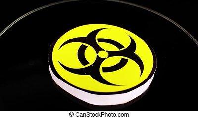 Biological hazard biohazard danger flu virus toxin warning
