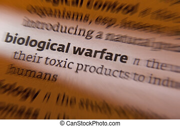 Biological Warfare is the use of toxins of biological origin...