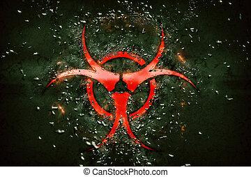 biologique, signe danger