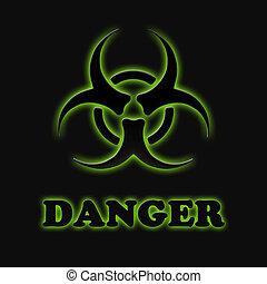 biologisch, gevaren, meldingsbord