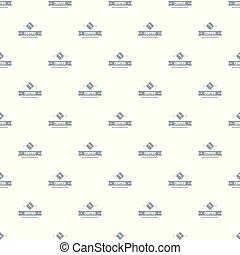 Biology center pattern vector seamless
