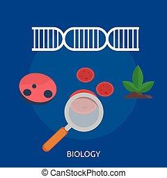 Biology Conceptual illustration Design
