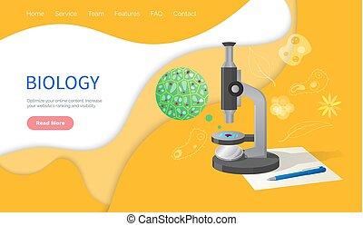 Biology Discipline Education in School, Subject