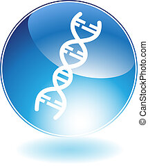 Biology Icon isolated on a white background.