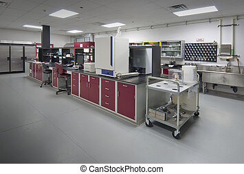 Biology laboratory - laboratory used to test and develop new...