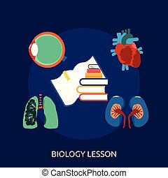 Biology Lesson Conceptual illustration Design