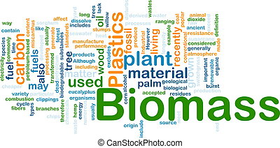 Biomass material background concept - Background concept...