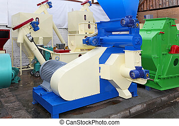 Biomass production equipment - Biomass and pellet for...