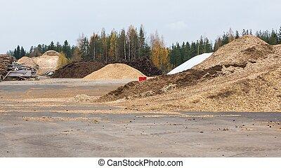 biomass, woodchips, turba