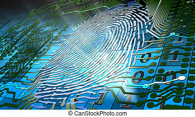 biometric fingerprint-based identif - Method for uniquely...