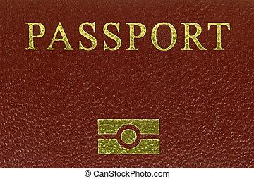 Biometrics Electronic passports - Closeup photo of ...