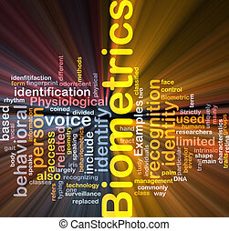 Biometrics word cloud box package - Software package box ...