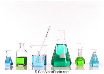 Biotechnology laboratory glassware