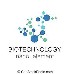 biotechnology nano logo - Nanotechnology. Biotechnology....