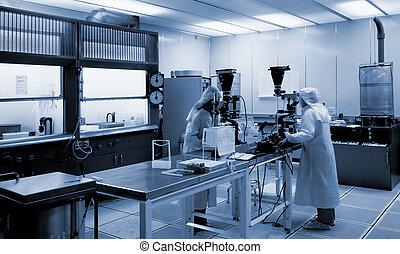 biotecnologia, laboratório
