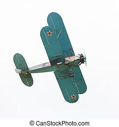 biplane Polikarpov Po-2, aircraft WW2 - biplane Polikarpov...