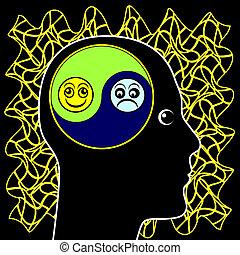 bipolair, luchtschommel, humeur