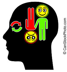 Bipolar Disorder Concept - Mental disorder with periods of ...