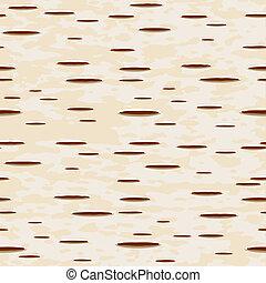 Birch bark - Vector illustration - birch bark seamless...