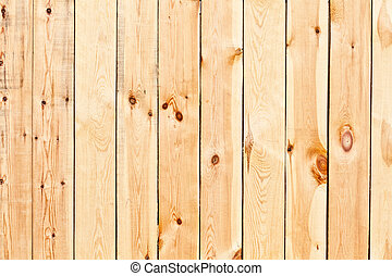 Birch planks - Texture of fresh birch wood treated planks