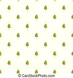 Birch tree pattern seamless