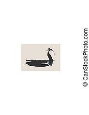 bird., 黒, ワタリガラス