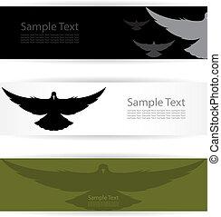 bird banners