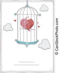Bird Cage Invitation
