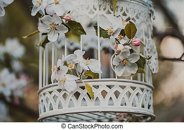 bird cage - romantic decor