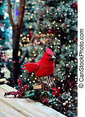 Bird Christmas decoration