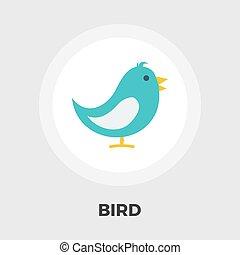 Bird flat icon