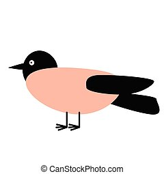 bird flat illustration