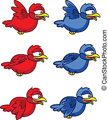 Bird Flying Sprite - Illustration of Bird Flying Sprite for...