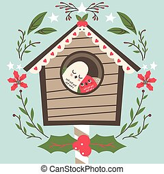 Bird House Christmas