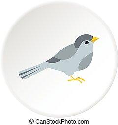 Bird icon circle