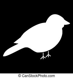 Bird icon .