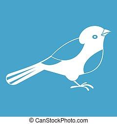 Bird icon white