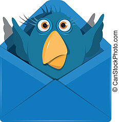 Bird in the envelope