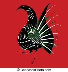 bird in the Russian style