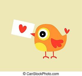 bird letter