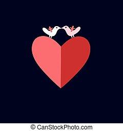 bird lovers heart