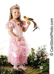 Bird-Loving Princess