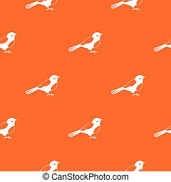 Bird pattern seamless