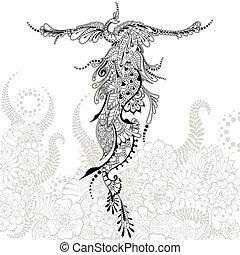 Bird Phoenix tattoo