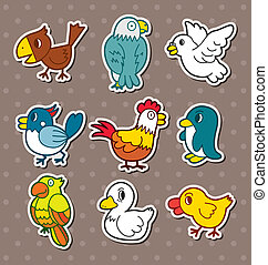 bird stickers