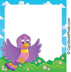 Bird theme frame 1